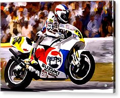 The Unleashing   Kevin Schwantz Acrylic Print
