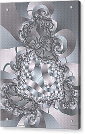 Acrylic Print featuring the digital art The Unraveling by Owlspook