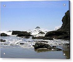 The Untamed Sea Acrylic Print
