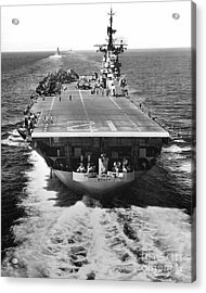 The U.s. Aircraft Carrier Uss Boxer Acrylic Print by Stocktrek Images