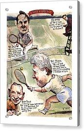 The U.s. Open Acrylic Print by Barry Blitt