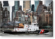 The Uss Penobscot Bay Acrylic Print by JC Findley