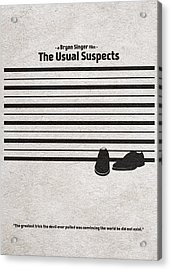 The Usual Suspects Acrylic Print