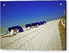 The Vacationers 2 Acrylic Print