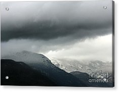 Acrylic Print featuring the photograph The Valley by Dana DiPasquale