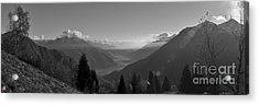 The Valley Acrylic Print by Marco Affini