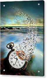 The Vanishing Time Acrylic Print