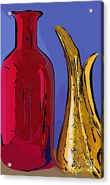 The Vase And Pitcher Acrylic Print
