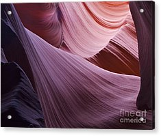 The Veil At Antelope Canyon Acrylic Print by Alex Cassels