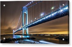 Acrylic Print featuring the photograph The Verrazano by Anthony Fields