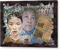 The Vietnam War Acrylic Print