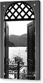 The View Acrylic Print by Andrea Anderegg