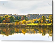 The View From Rabbit Hash Acrylic Print by Jeanne Sheridan