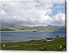Acrylic Print featuring the photograph The View Northern Highlands Of Scotland by Sally Ross