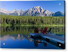 Acrylic Print featuring the photograph The View by Phil Stone