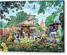 The Village Fayre  Acrylic Print