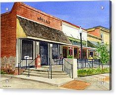 The Village Acrylic Print