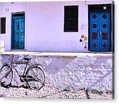 The Village House Acrylic Print by Makarand Purohit