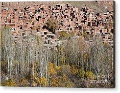 The Village Of Abyaneh In Iran Acrylic Print by Robert Preston