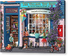 The Village Toy Shop Acrylic Print