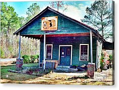 The Vintage Shop In Green Pond Acrylic Print
