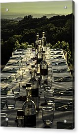 The Vintner's Table Acrylic Print