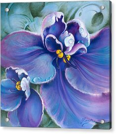 The Violet Acrylic Print
