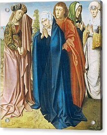 The Virgin Mary With St John The Evangelist And The Holy Women Acrylic Print
