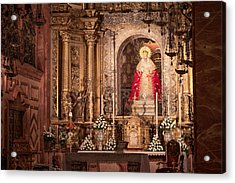 The Virgin Of Hope Acrylic Print by Joan Carroll