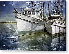 The Virginia Lee And The Miss Harley Acrylic Print