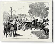 The Visit Of The Czar To The German Emperor At Berlin Acrylic Print