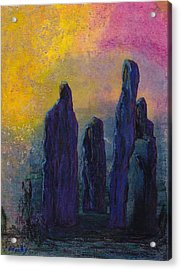 The Visitation Acrylic Print by Carla Woody
