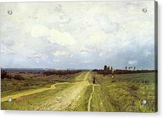 The Vladimirka Road Acrylic Print by Isaak Ilyich Levitan