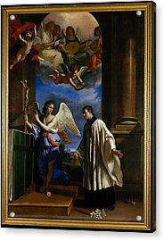 The Vocation Of Saint Aloysius Luigi Acrylic Print by Guercino