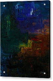 The Void Acrylic Print by Jennifer Galbraith