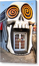The Vortex In Eclectic Little Five Points Acrylic Print by Mark E Tisdale