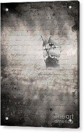 The Voyage Acrylic Print by Edward Fielding