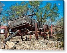 The Wagon Acrylic Print by Don Durante Jr