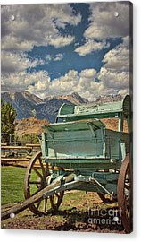 Acrylic Print featuring the photograph The Wagon by Peggy Hughes