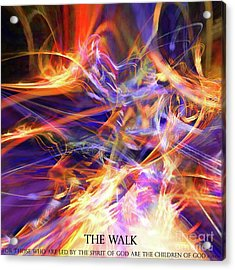 The Walk Acrylic Print