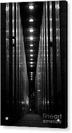 The Walkway Acrylic Print by Steven Parker