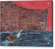 The Wall Crasher Acrylic Print by Gary Huang