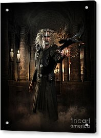 The Warlock Acrylic Print by Shanina Conway