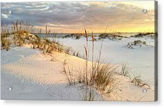 The Warmth Of The Sand Acrylic Print by JC Findley