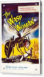 The Wasp Woman, Susan Cabot, 1959 Acrylic Print by Everett