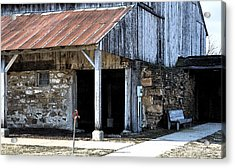The Water Pump Acrylic Print by Kirt Tisdale