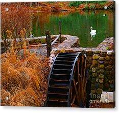 The Water Wheel Acrylic Print