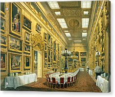 The Waterloo Gallery, Apsley House Acrylic Print by Richard Ford