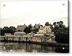 The Waterworks Acrylic Print by Bill Cannon
