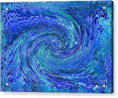The Wave Acrylic Print by Carol Groenen